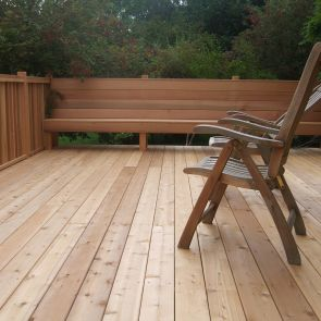 Cedardeck Select Western Red Cedar Decking