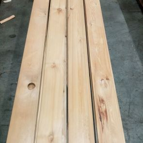 Siberian Larch Channel Weatherboard Cladding – 21 x 146mm - 55 Lineal Metres - Grade 2 - PK1297