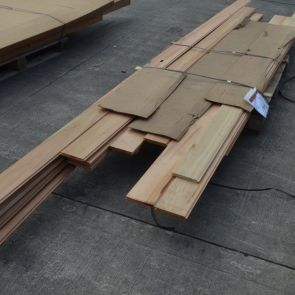 Western Red Cedar Tongue & Groove Cladding - 18 x 144mm - 60.03 Lineal Metres - 8.22 sq. m. - PK1076