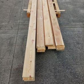 Siberian Larch Boards – 20 x 120mm -  64 Lineal Metres - Grade 2 - PK1275