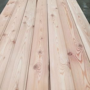 Siberian Larch Tongue & Groove Cladding – 20 x 120mm -  468 Lineal Metres - Grade 2 - PK1303