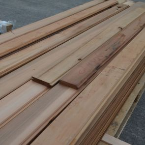 Western Red Cedar V-Joint Tongue & Groove Cladding – Mixed Grade - 20 x 94mm - 146.98 Lineal Metres - 12.79 sq. m. - PK1029