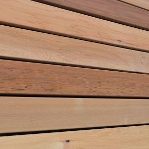 Western Red Cedar No. 2 Clear & Better Boards