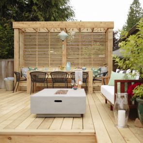 Cascadia Western Red Cedar Decking