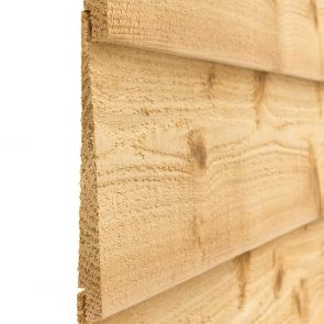 Cascadia Western Red Cedar Rebated Bevel Cladding