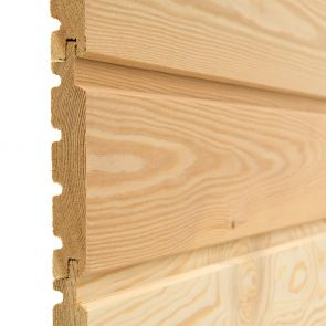 SILVALarch™ Siberian Larch Channel Cladding