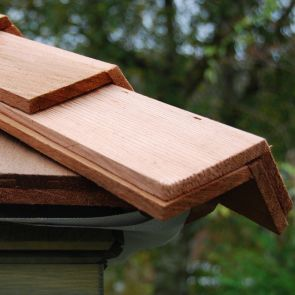 Waldun Premium Certi-Ridge Pre-Formed Shingle Western Red Cedar Hip & Ridge Caps
