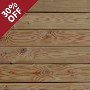 Siberian Larch V-Joint Cladding – 21 x 96mm - 234 Lineal Metres - 20.60 sq. m - PK0957