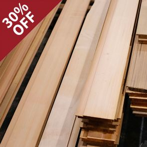 Silva Select Prestige VG Western Red Cedar Channel Cladding - 20 x 144mm - 184.03 Lineal Metres - PK0969