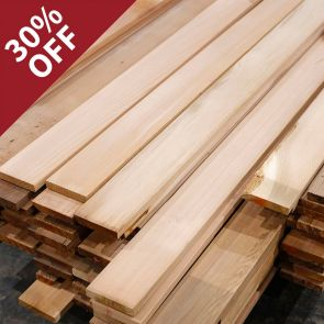 Western Red Cedar No.2 Clear & Better (85/15) Boards - 18 x 94mm - 287.99 Lineal Metres - PK0971