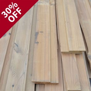ThermoWood Channel Cladding – 20 x 93mm - 64.8 linear metres - 4.92 sq. m. - PK1001