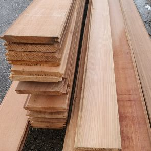 Western Red Cedar Tongue & Groove Cladding – 18 x 137 mm - 87.12 Linear Metres - 11.24 sqm - PK1034