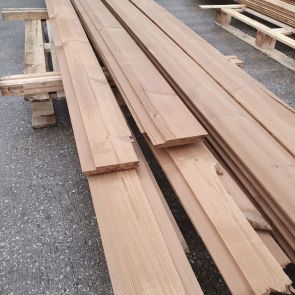 Thermowood Channel Cladding – 21 x 143mm - 58.60 Lineal Metres - 7.38 sq. m. - PK1039