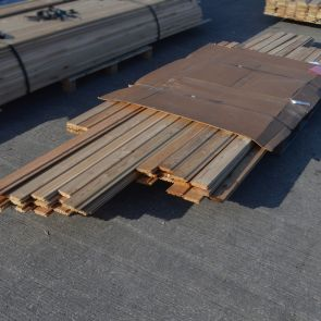 Siberian Larch Channel Cladding – 21 x 96mm - 113.4 Lineal Metres - 9.98 sq. m. - PK1058