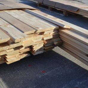 Siberian Larch Rainscreen Cladding – 21 x 96mm  - 263.3 Lineal Metres - 25.27 sq. m. - PK1059