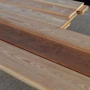 Siberian Larch V-Joint Weatherboard Cladding – 21 x 146mm - 6.23 sqm - 47.2 Lineal Metres - PK1073