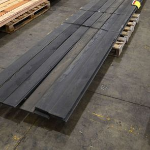 Siberian Larch Bevel Cladding Factory Coated in Sansin SDF Onyx – 22 x 146mm - 48 lineal Metres - Grade 2 - PK1156