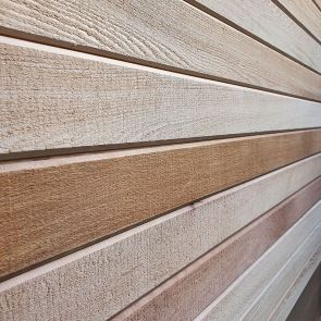 Western Red Cedar A & Better SAWTEX™ V-Joint Tongue & Groove Cladding