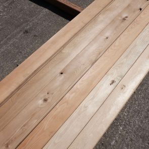 Siberian Larch Boards – 21 x 96mm -  73 Lineal Metres - Grade 2 - PK1081