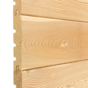 SILVALarch™ Siberian Larch Tongue & Groove V-Joint Cladding
