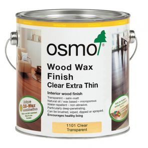 Osmo Wood Wax Finish Extra Thin Clear