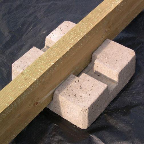 Precast Concrete Deck Pier / Deck Block