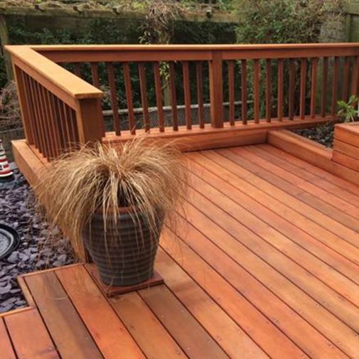 Western Red Cedar Posts and Railing Components