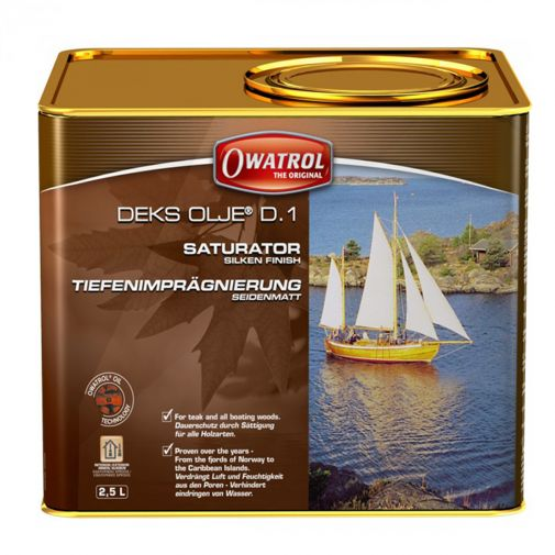 Owatrol Deks Olje D1 Wood Saturating Oil