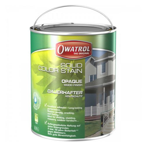 Owatrol Solid Colour Stain – Up to 15-Year Warranty