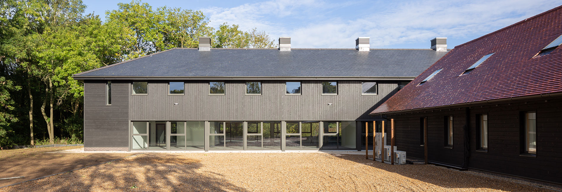 ThermoWood Specified For Development Project in Thremhall Park