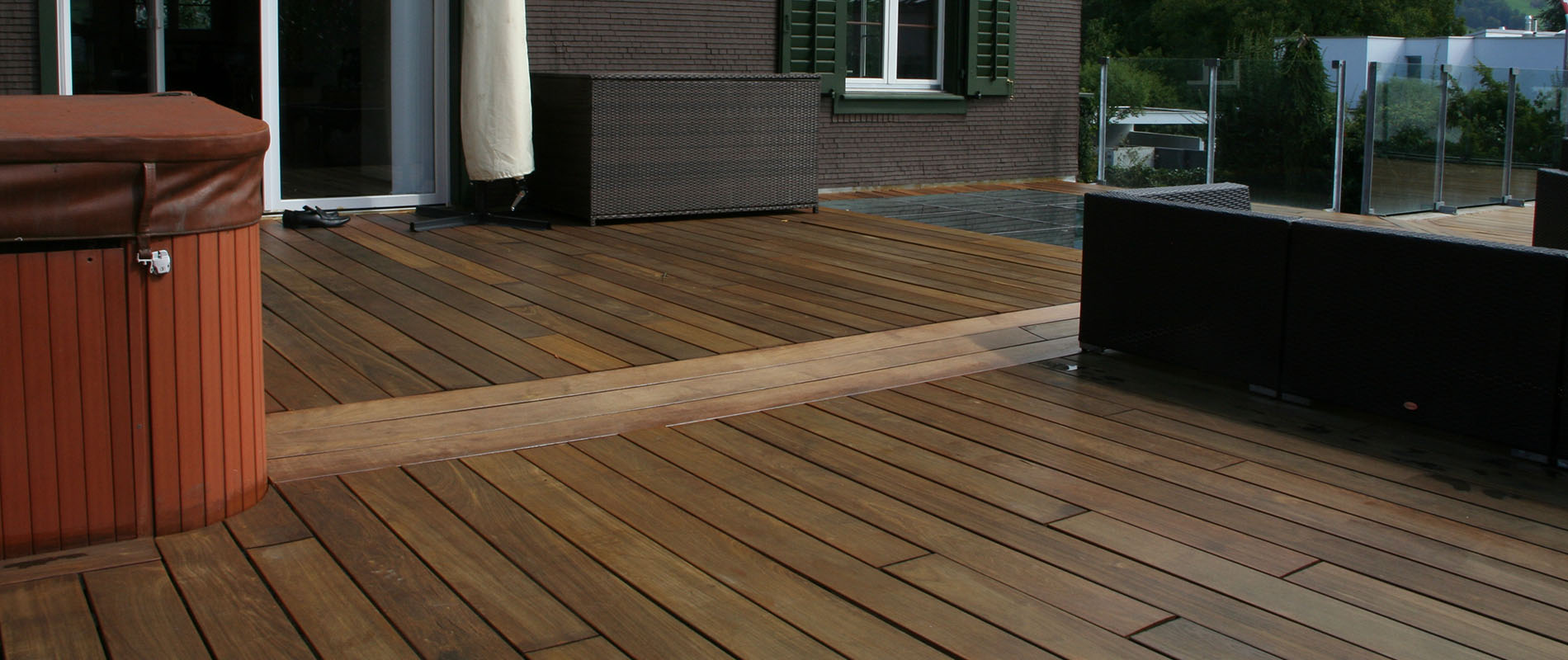 Ipe is the Superior Decking Solution for Switzerland Chalet With Jaw Dropping Backdrop