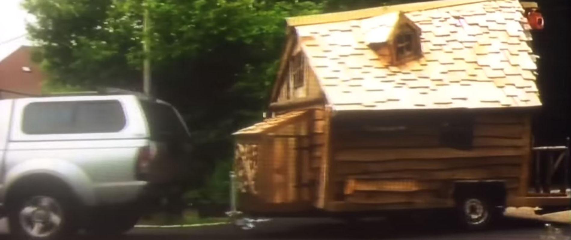 Pixie Cabin Using Western Red Cedar Shingles