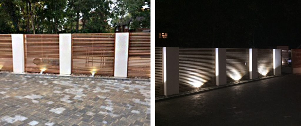 Western Red Cedar Slatted Screens Provide Alternative Contemporary Fencing