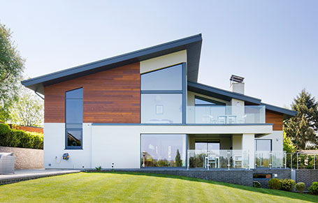 Cedar Cladding Provides Warmth to Modern Self-Build