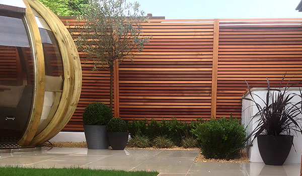Garden Feels Like Home With Western Red Cedar and Ipe Hardwood Decking