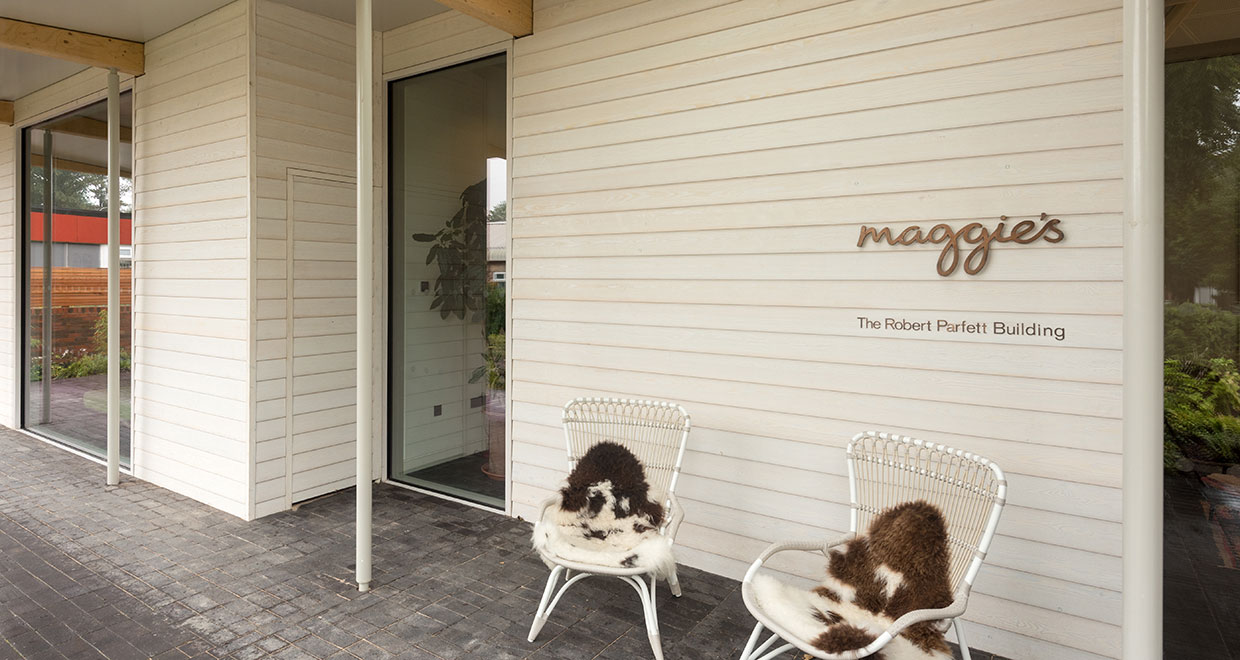 Siberian Larch Helps Bring a Natural Feel to Maggie's Cancer Support Centre