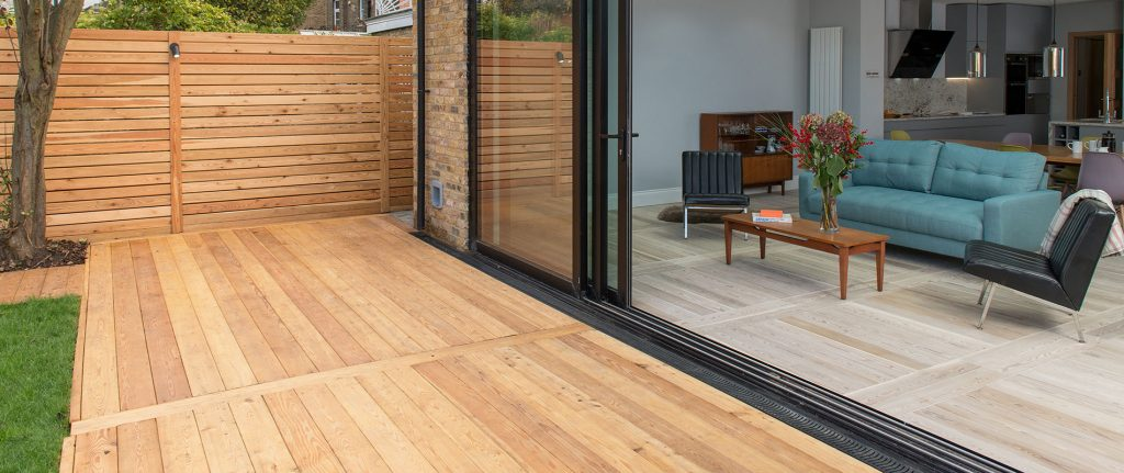 Siberian Larch and Sansin Work Perfectly in Garden Transformation