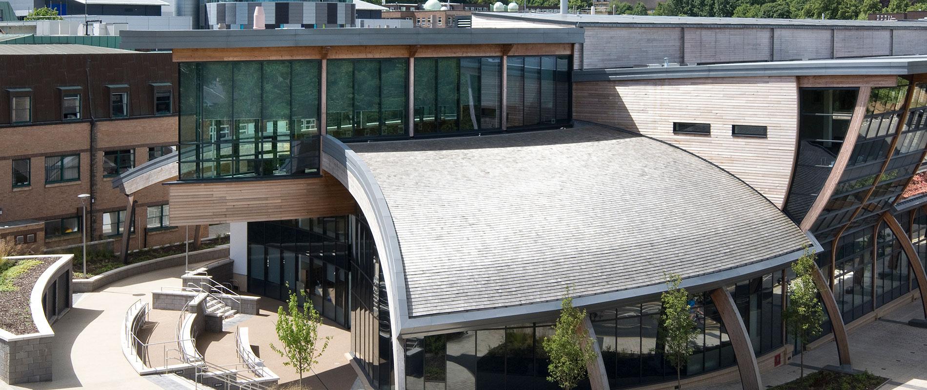 Durham University Uses Certigrade Western Red Cedar Shingles