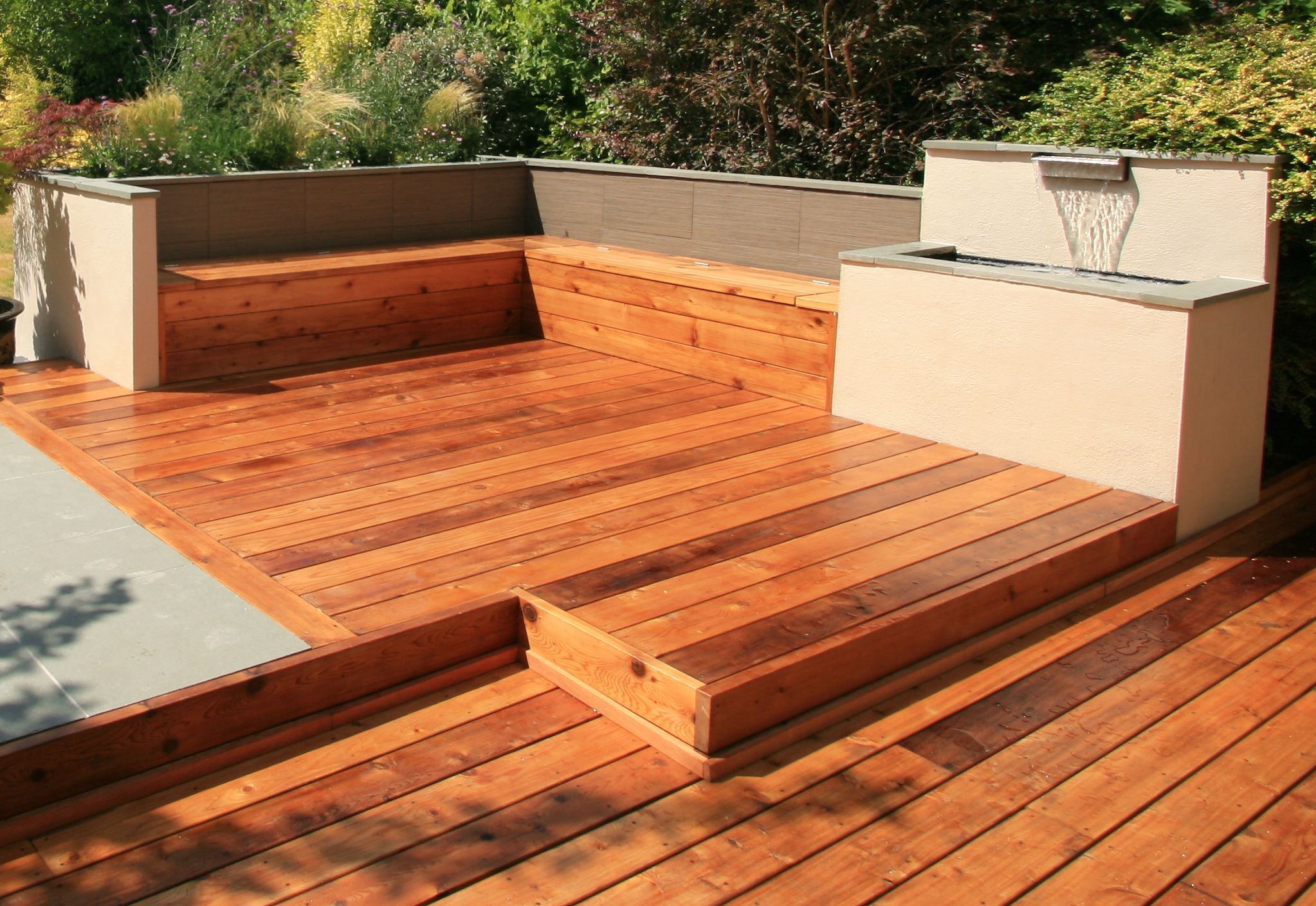 How to Prevent Wood Decking From Becoming Slippery