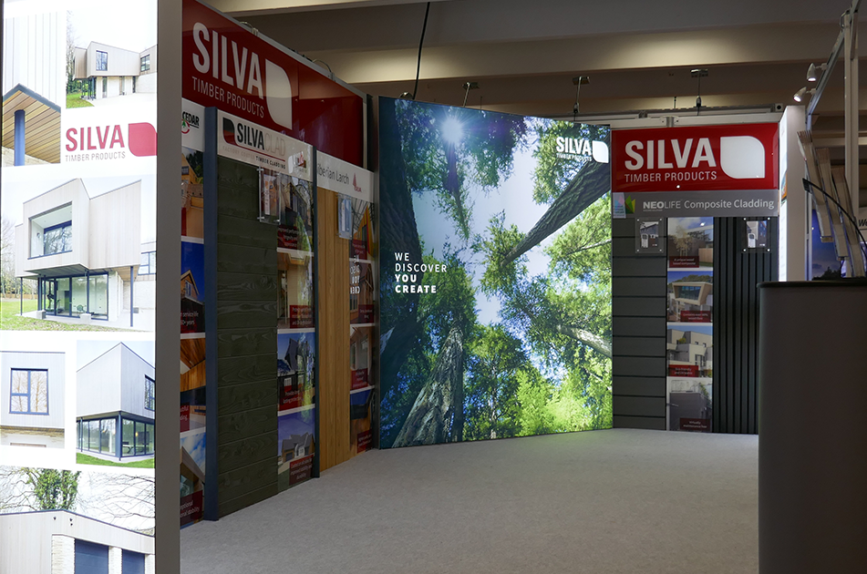 Silva Timber at Homebuilding & Renovating Show Farnborough 2020