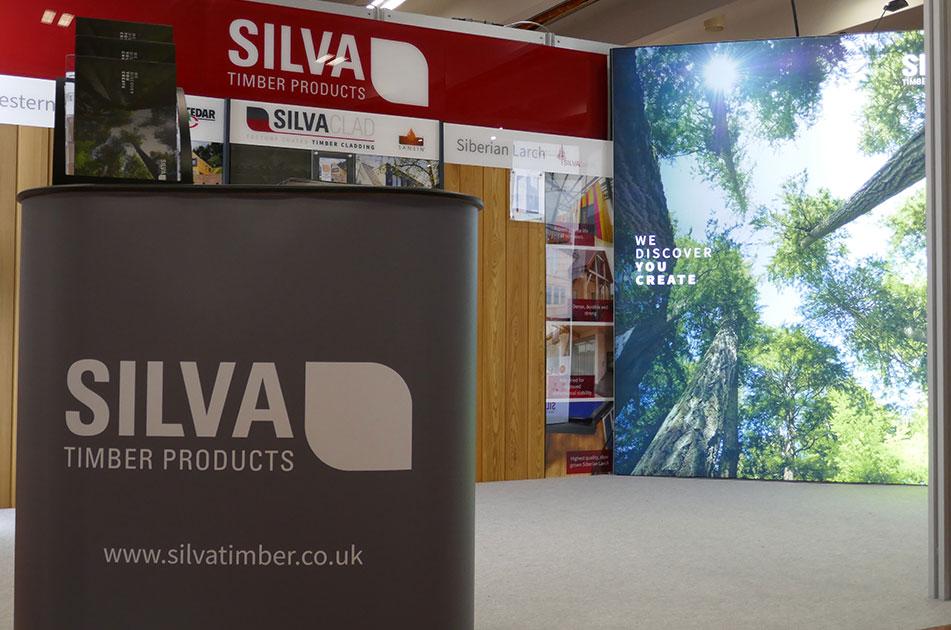 Silva Timber at Homebuilding & Renovating Show Farnborough 2020