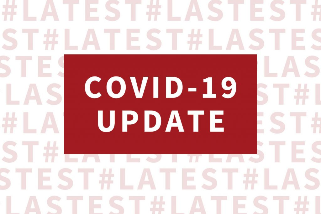 COVID-19: Weekly Update & Revised Delivery Schedules